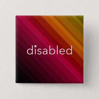 Disabled - Vintage Stripe Pin