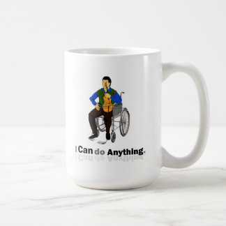 Disabled Violinist Classic White Coffee Mug