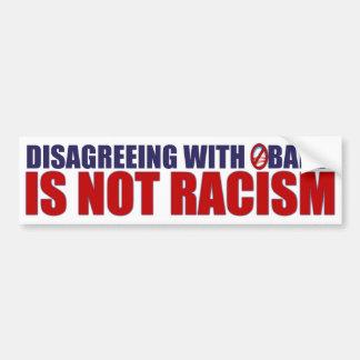 Disagreeing with Obama Bumper Sticker