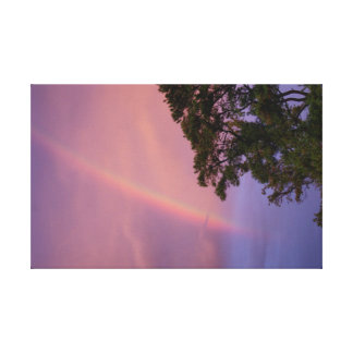 Disappearing Rainbow Canvas Prints
