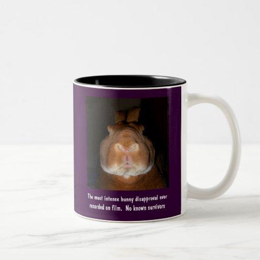 Disapproving Rabbits Mug 1 - Customized