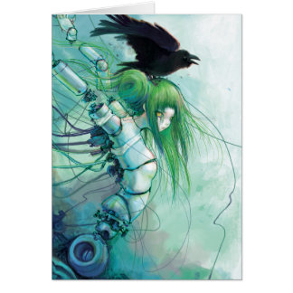 Disassembled Tears Note Card