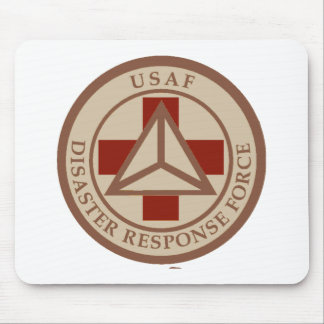 Disaster Response Force (Desert Camo) Mouse Pad