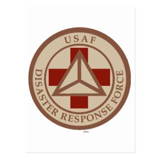 Disaster Response Force (Desert Camo) Postcard