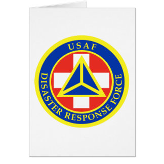 Disaster Response Force (Full Color) Greeting Card