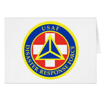 Disaster Response Force (Full Colour) Greeting Card