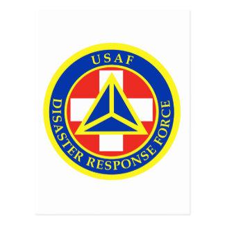 Disaster Response Force (Full Colour) Postcard