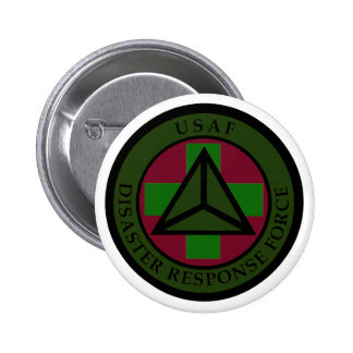 Disaster Response Force (Woodland Camo) 6 Cm Round Badge