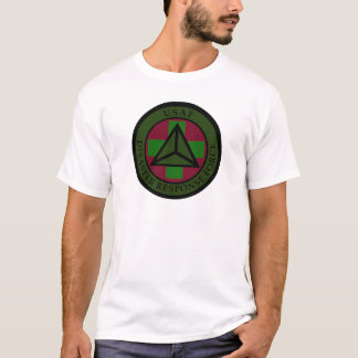 Disaster Response Force (Woodland Camo) White T T-Shirt