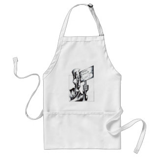 Disasters Happen Adult Apron