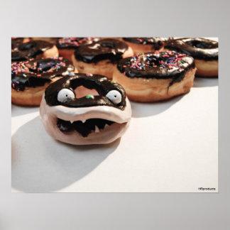 Disastrous Doughnut Poster
