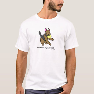 Disc Dog Airedale Terrier T Shirt