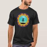 Disc Golf Abstract Basket 4 T-Shirt