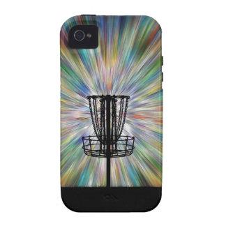 Disc Golf Basket Silhouette Case-Mate iPhone 4 Case