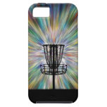 Disc Golf Basket Silhouette iPhone 5 Cover