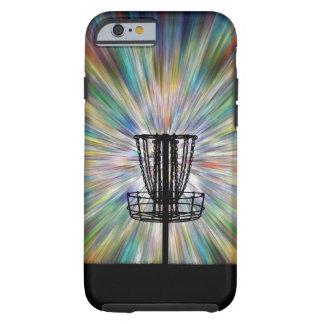 Disc Golf Basket Silhouette Tough iPhone 6 Case