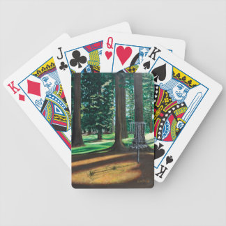 DISC GOLF BICYCLE PLAYING CARDS