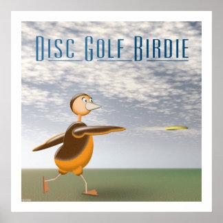 Disc Golf Birdie Print
