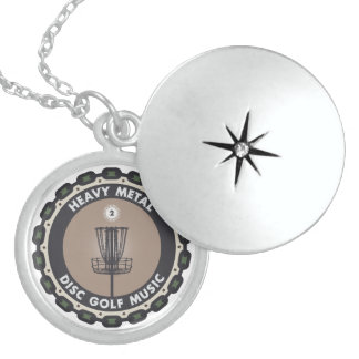 Disc Golf Chains Sterling Silver Necklace