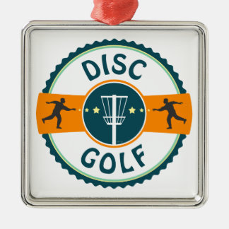 Disc Golf Christmas Ornament