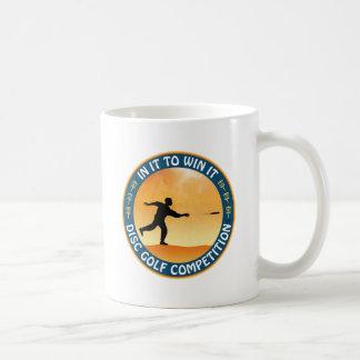 Disc Golf Competition Basic White Mug