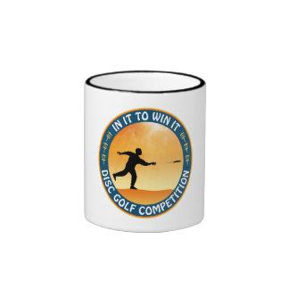 Disc Golf Competition Ringer Mug