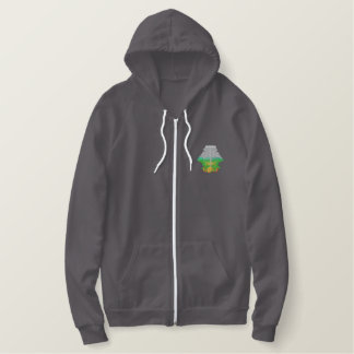 Disc Golf Embroidered Hoodie