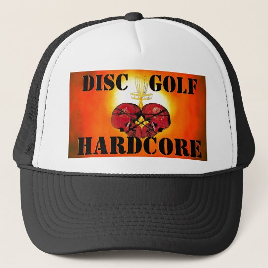 DISC GOLF HARDCORE.com Trucker Hat