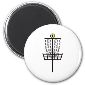 Disc Golf Hole Fridge Magnet