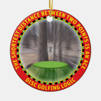 Disc Golf Logic #1 Christmas Ornament