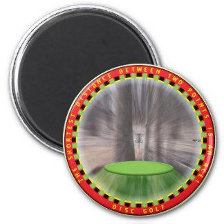 Disc Golf Logic #2 6 Cm Round Magnet
