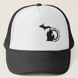 Disc Golf Michigan Trucker Hat