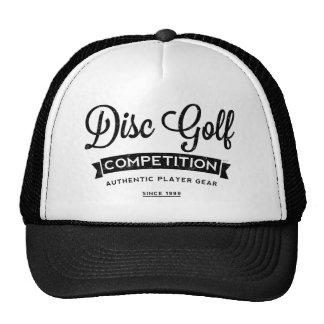 Disc Golf Player Gear Cap