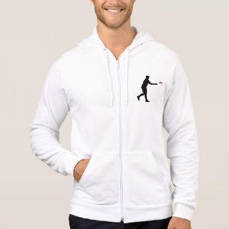 Disc golf player hoodie