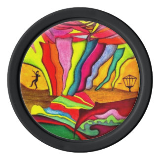 Disc Golf Poker Chips