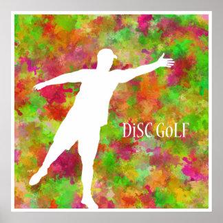 Disc Golf Print