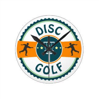 Disc Golf Round Clock