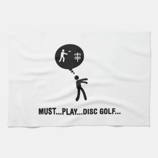 Disc Golf Tea Towel