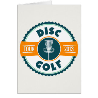 Disc Golf Tour 2013 Greeting Card