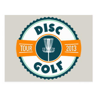 Disc Golf Tour 2013 Postcard