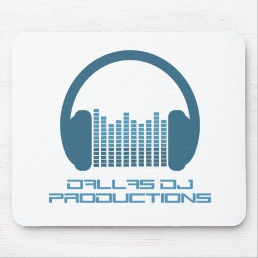 Disc Jockey, DJ, DJ Logo, DJ Headphones Mousepads