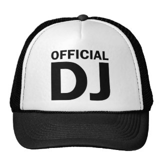 disc jockey trucker hats