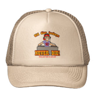 Disc Jockeys Hat