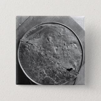 Disc of Theodosius I  the Great, c.379-395 15 Cm Square Badge