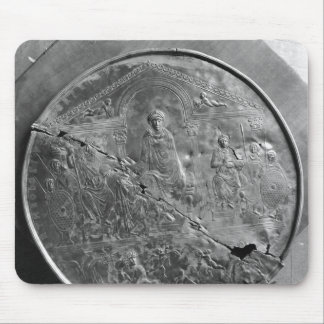 Disc of Theodosius I  the Great, c.379-395 Mouse Mat