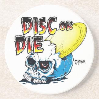 Disc Or Die Coaster