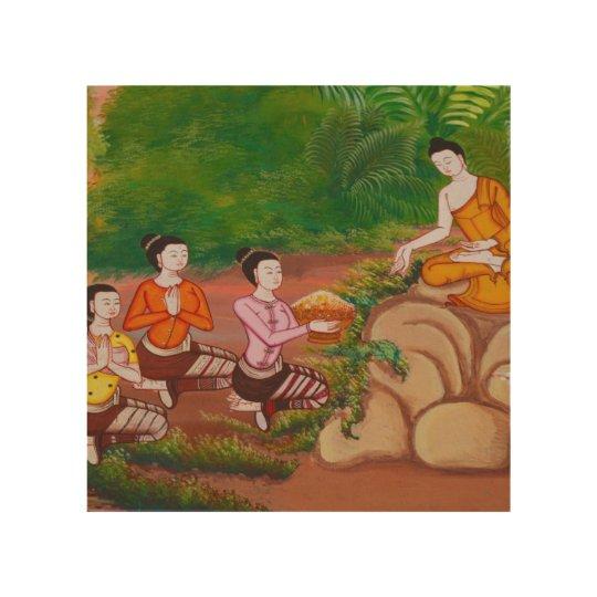 Disciples of Buddha Wall panel art