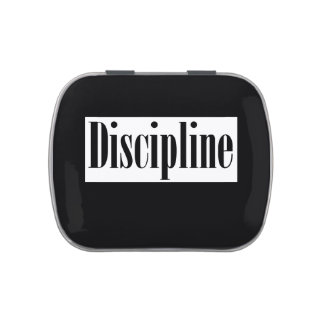 Discipline Candy Container Jelly Belly Tins