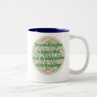 Discipline Degree Of Challenge Two-Tone Mug