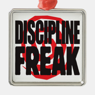 Discipline Freak Christmas Tree Ornament